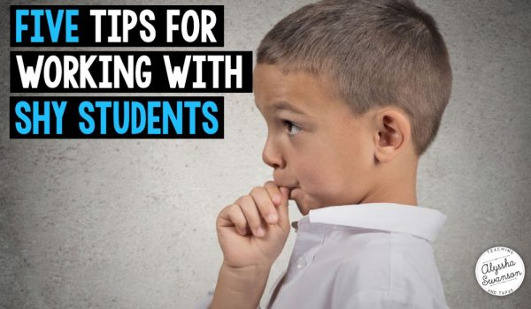 Five Tips for Working With Shy Students (Written By a Shy Teacher)