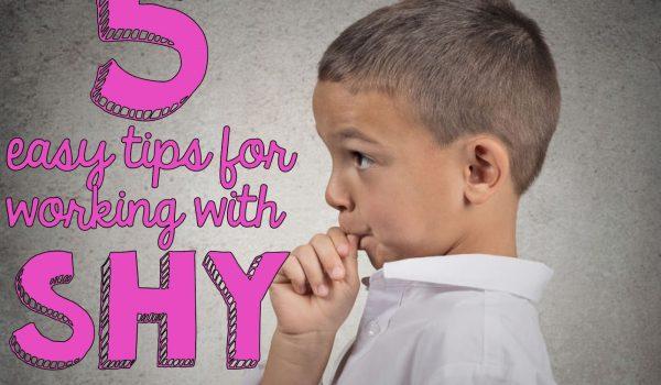 Helping Shy Students Written By a Shy Teacher