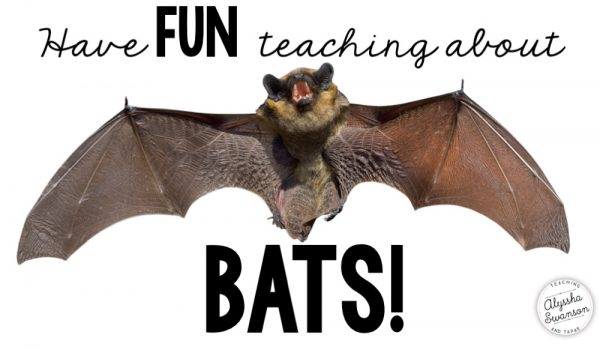 Have Fun Teaching About Bats!