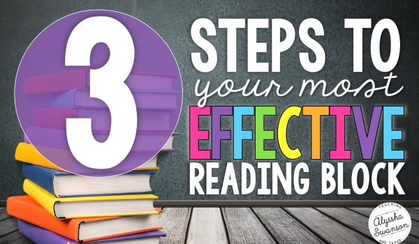 3 Steps to Your Most Effective Reading Block