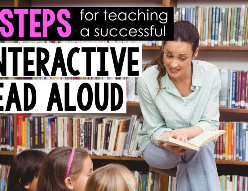 Interactive Read Aloud in Six Easy Steps…