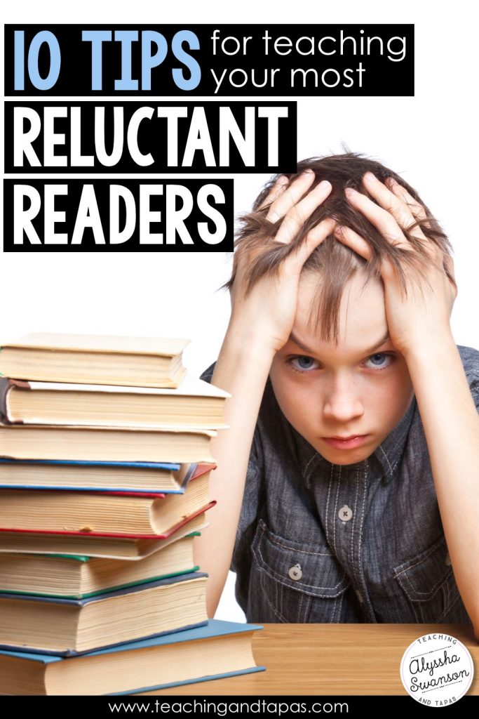 Teaching reluctant readers: ten tips