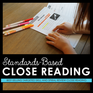 * Close Reading Bundles