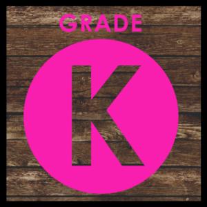 GRADE LEVEL - Kindergarten