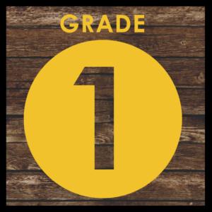 GRADE LEVEL - 1st Grade