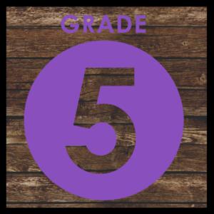 GRADE LEVEL - 5th Grade