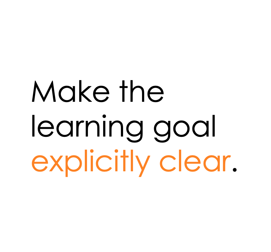 Be sure the learning goals are clear in your interactive read aloud lessons